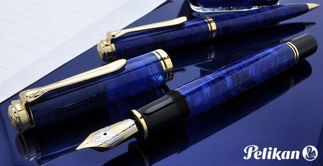 ペリカン 万年筆 特別生産品 スーベレーン800 ブルー・オ・ブルー M800