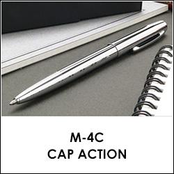 フィッシャー ボールペン キャップアクション M-4C