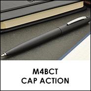 フィッシャー ボールペン キャップアクション M4シリーズ ブラック M4BCT 1010371