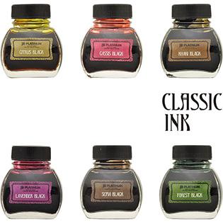 プラチナ万年筆 CLASSIC INK(クラシックインク) 水溶性インク INKK-2000 60cc入り