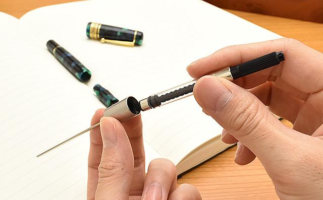 ハミングバードを使えば普段のインク吸入も、手軽で簡単に!
