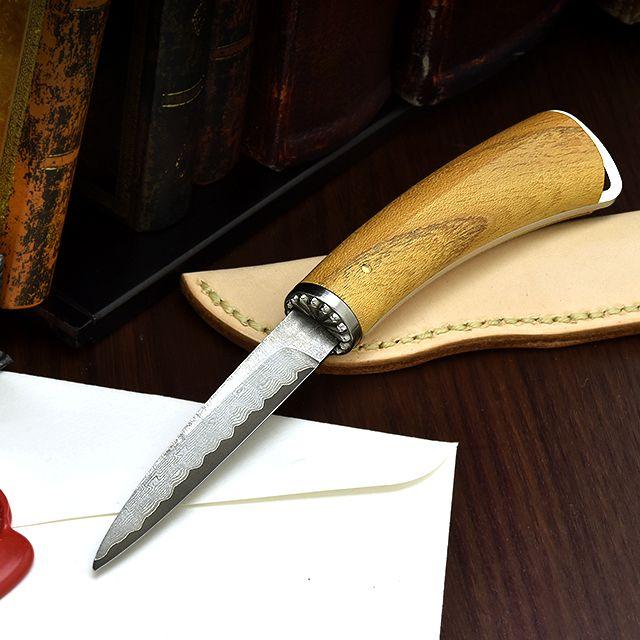 Pent〈ペント〉× FEDECA(フェデカ)× 杢杢工房 ペーパーナイフ トラディショナル