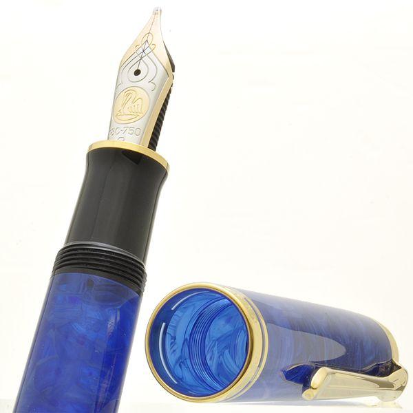 ペリカン 万年筆 特別生産品 スーベレーン800 ブルー・オー・ブルー M800