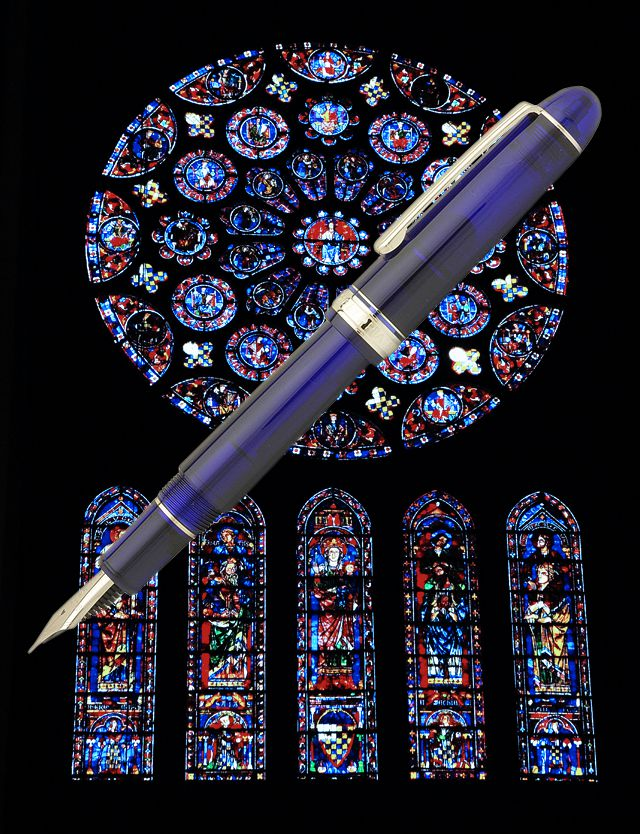Click-Action Gel pen Blue Robert Morris University