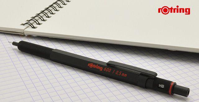 ロットリング ペンシル ロットリング600シリーズ 製図用シャープペンシル ブラック