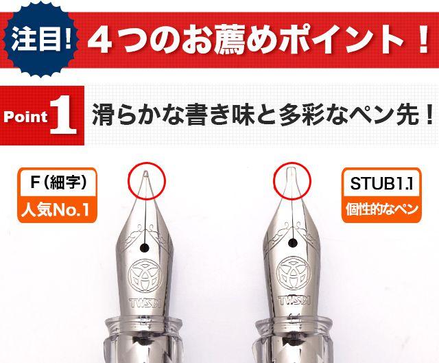TWSBI(ツイスビー) 万年筆 ECO(エコ) セメントグレー  M7448