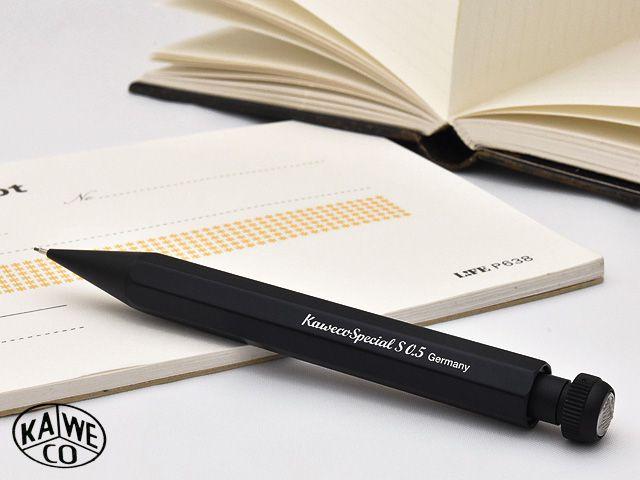 カヴェコ ペンシル 0.5mm ペンシルスペシャル ミニ ブラック