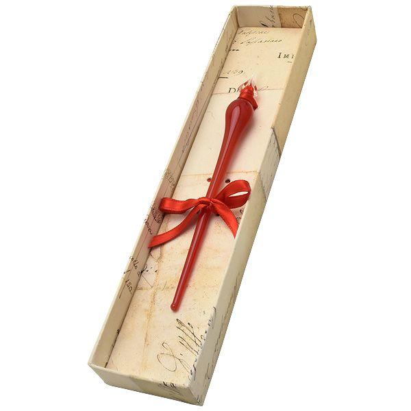 RUBINATO ルビナート ガラスペン 15/LEO しずく 15/LEO-2700-RED レッド