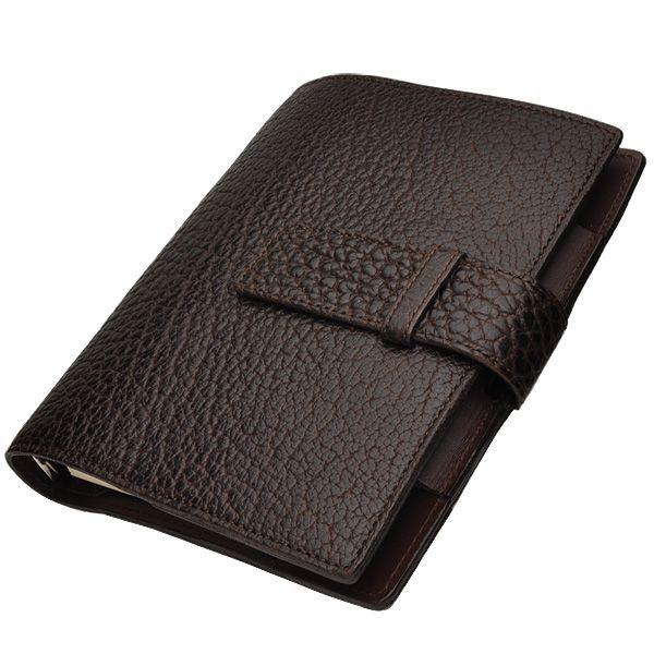 アメリカン バイソン システム手帳 チョコレート