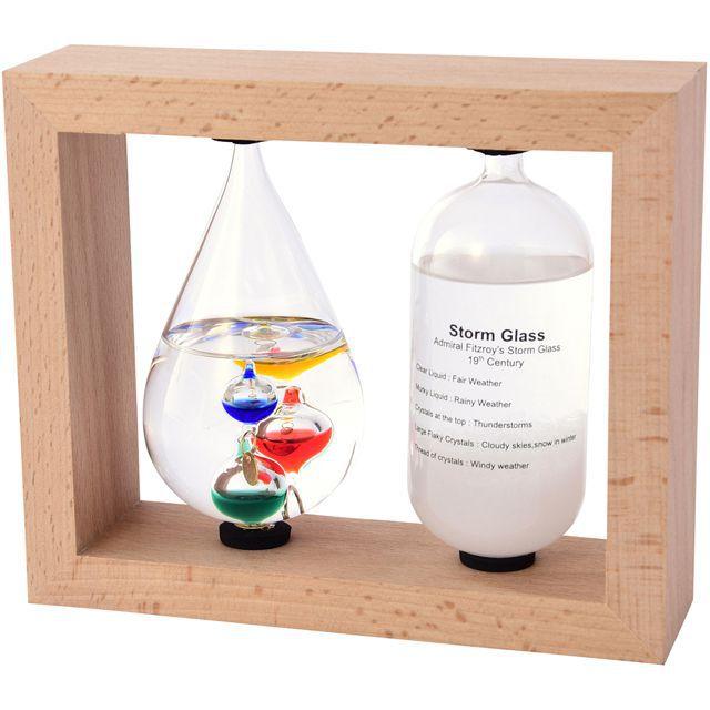 デスクアクセサリー Fun Science(ファン・サイエンス) 温度計&ストームグラス
