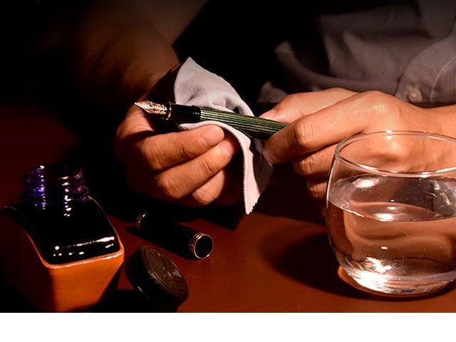 ペリカン 万年筆 スーベレーン M400 お手入れ