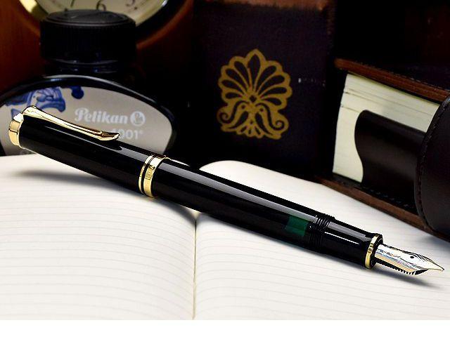 ペリカン 万年筆 スーベレーン M400 黒