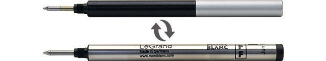 ボールペン リフィルアダプター モンブラン ボールペンリフィル対応モデル