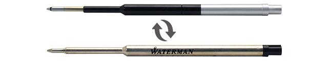 ボールペン リフィルアダプター ウォーターマン ボールペンリフィル対応モデル