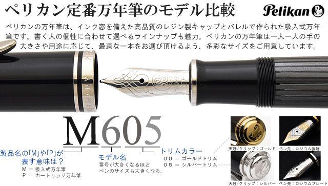 ペリカン定番万年筆のモデル比較
