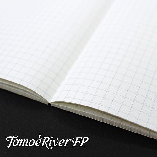 SAKAEテクニカルペーパー 高品質ノート トモエリバーFPソフトカバーノート A5 ホワイト 5mm方眼 TMR-A5NB-5HW
