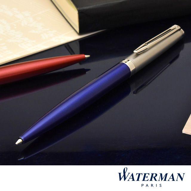 ウォーターマン ボールペン メトロポリタン エッセンシャル サテンブルーCT