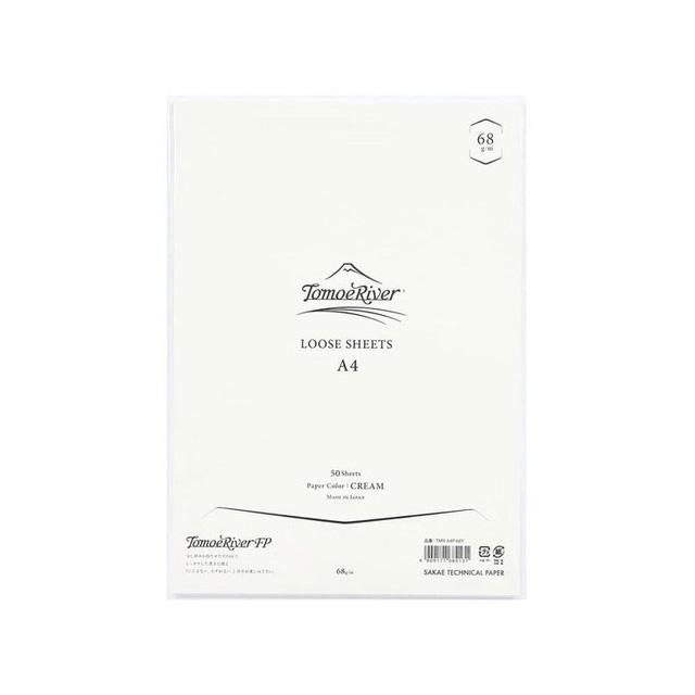 SAKAEテクニカルペーパー 高品質ノート トモエリバーFPソフトカバーノート A5 ホワイト 5mmドット TMR-A5NB-5DW